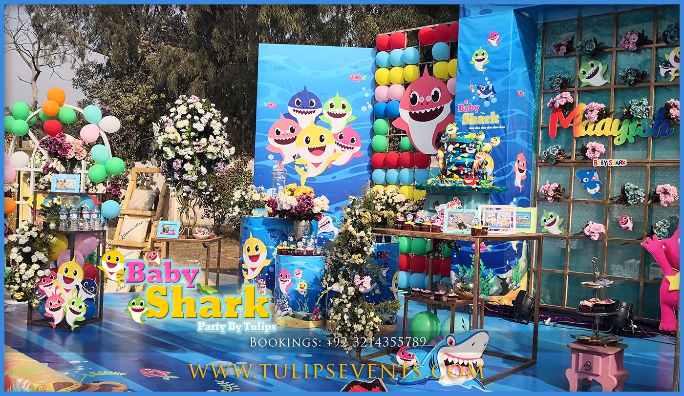 Baby Shark Birthday Ideas Best Birthday Party Planner In Lahore Pakistan Thematic Birthday Planner