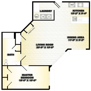 1 Bed / 1 Bath / 999 sq ft / Deposit: $750 / Availability: Please Call