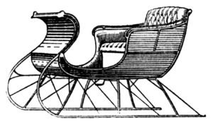 Now that's a sleigh...