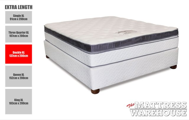 Cloud Nine Grande I-Sleep - Double XL Bed