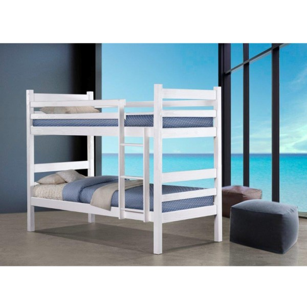 Denise Bunk Bed (Lace White)