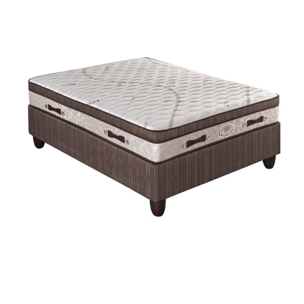 Edblo Mocha - Queen XL Bed