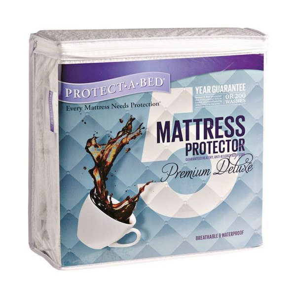 Protect·A·Bed Premium Deluxe Mattress Protector - King