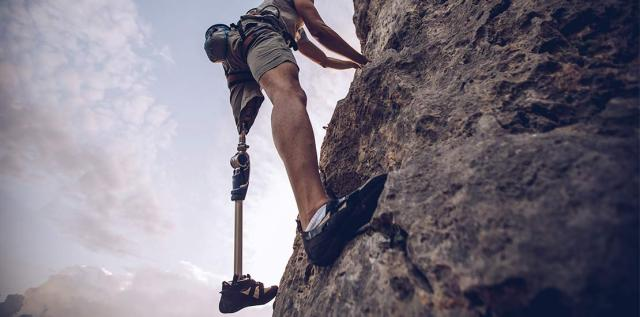 Staying Fit  -  Beating Yoursel -rock climber