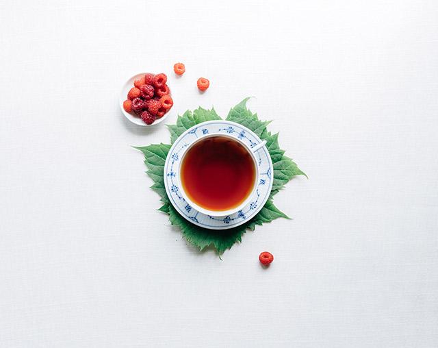 Chamomile tea before bed