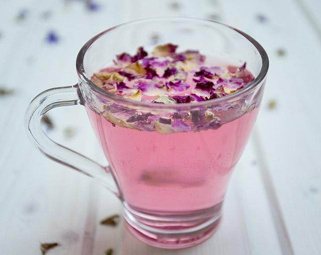 Lavender tea before bed