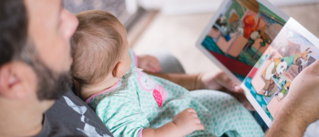 your child is never too old or too young for bedtime reading