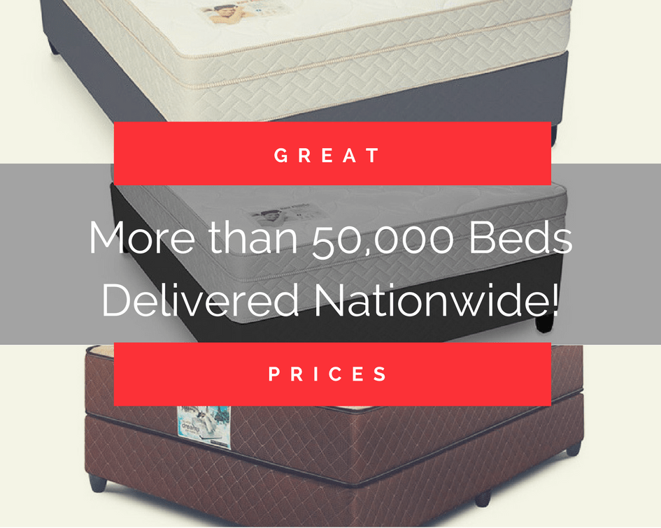Bed and Mattress Sizes in Pretoria