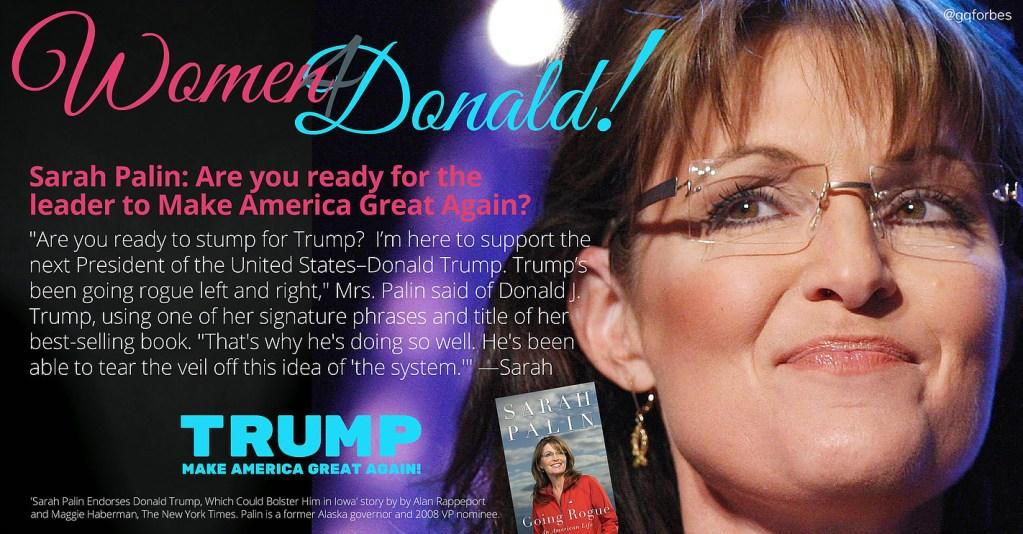 Sarah Palin Endorses Trump