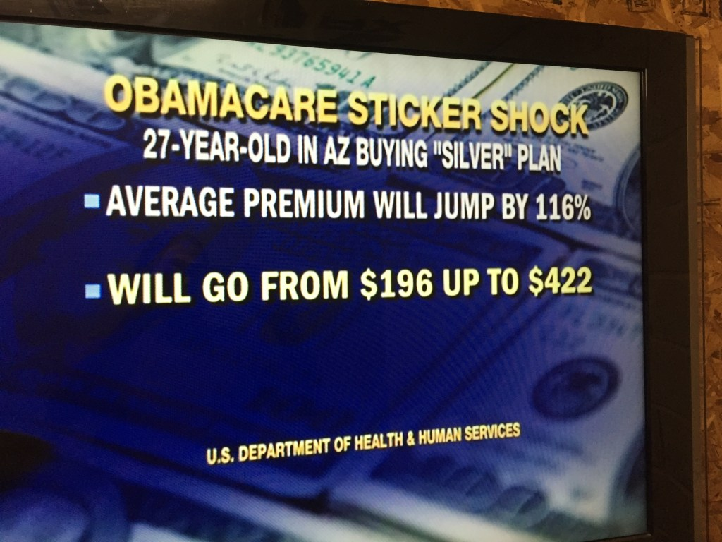 Fox News OBama Care Increases Arizona 116pct New Mexico 93pct New York 80pct