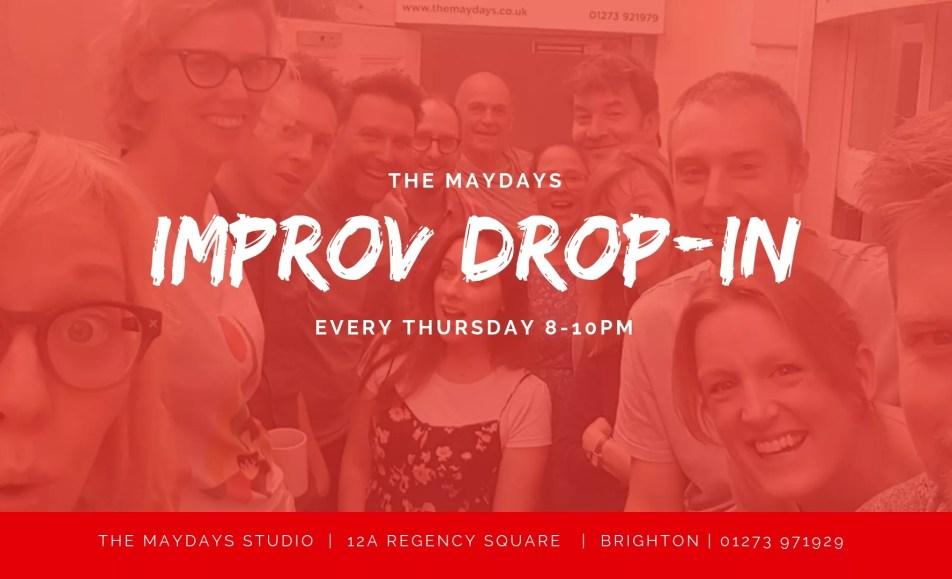 Thursday Improv Comedy Drop-In Brighton