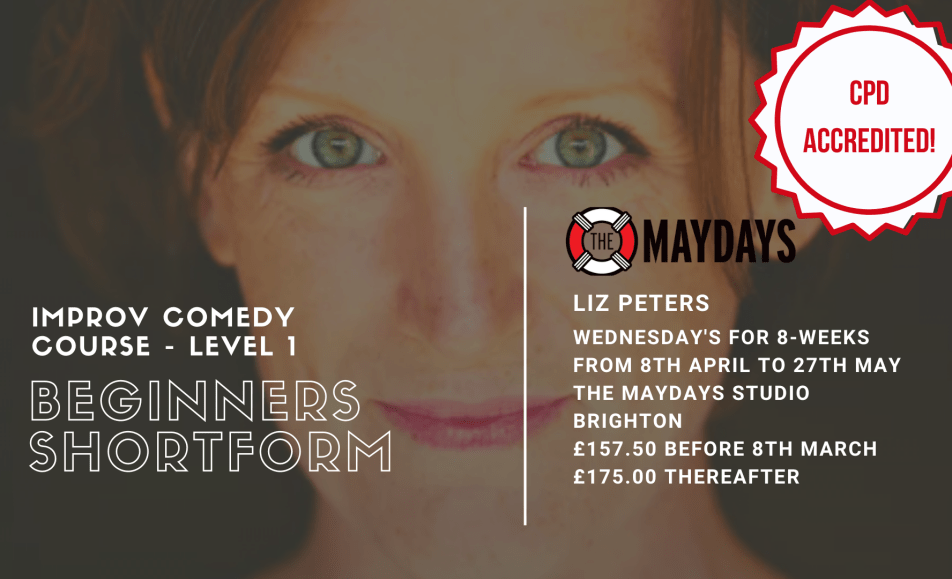 POSTPONED – Beginners Improv Comedy Course