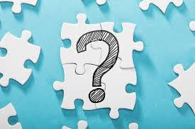 a jigsaw of a question mark
