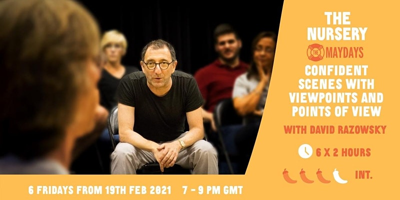 SOLD OUT! Online Improv Super-Elective: Confident Scenes with Viewpoints & POV