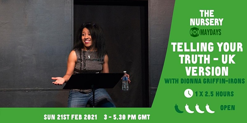 POC Workshop: Telling Your Truth – UK Version with Dionna Griffin-Irons