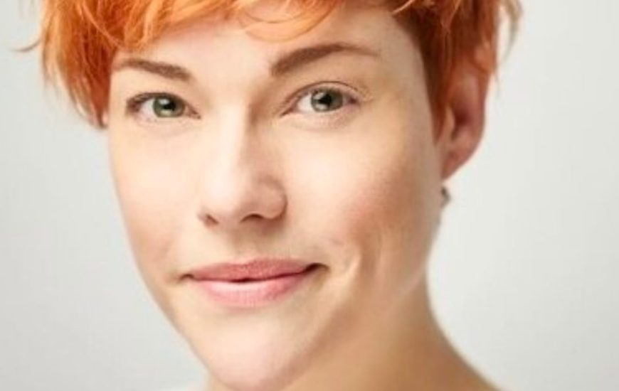 Headshot of The Nursery Theatre and The Maydays online collaboration teaching team, Francesca Reid
