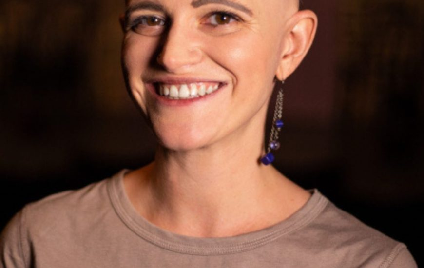 Headshot of The Nursery Theatre and The Maydays online collaboration teaching team, Jessica Mitolo