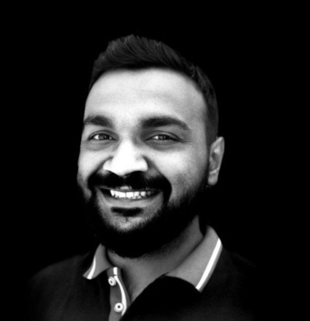Headshot of The Nursery Theatre and The Maydays online collaboration teaching team, Gaurav Singh
