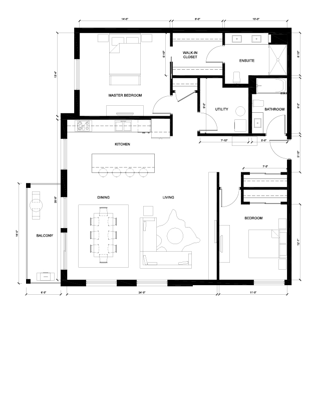 The Kingsway Floorplan