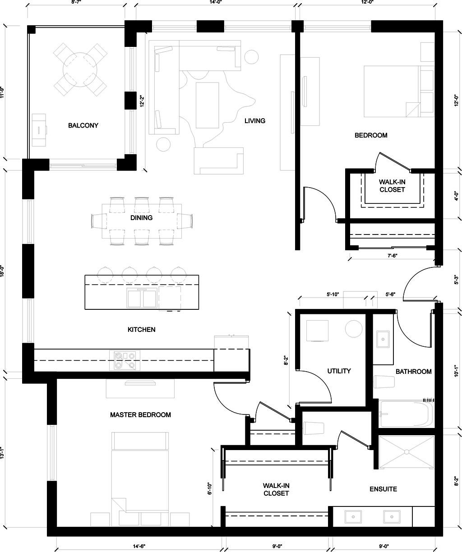 wellington suite floor plan