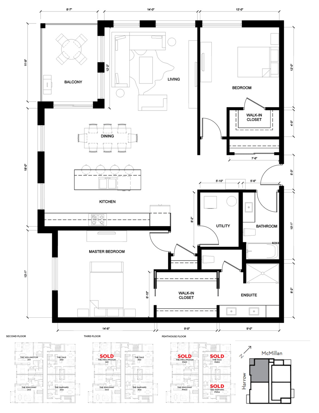 Wellington 2D Floorplan