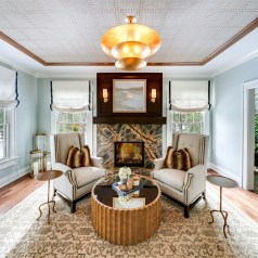 Living Room Interior Design - McMullin Design Group