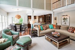 Designer Family Room - McMullin Design Group