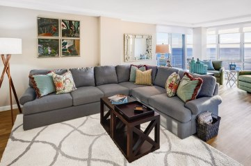 Custom Living Space - McMullin Design Group