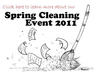 Learn more about our Spring Cleaning Event!