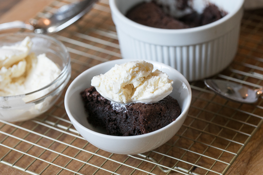 Tablespoon Chocolate Cake