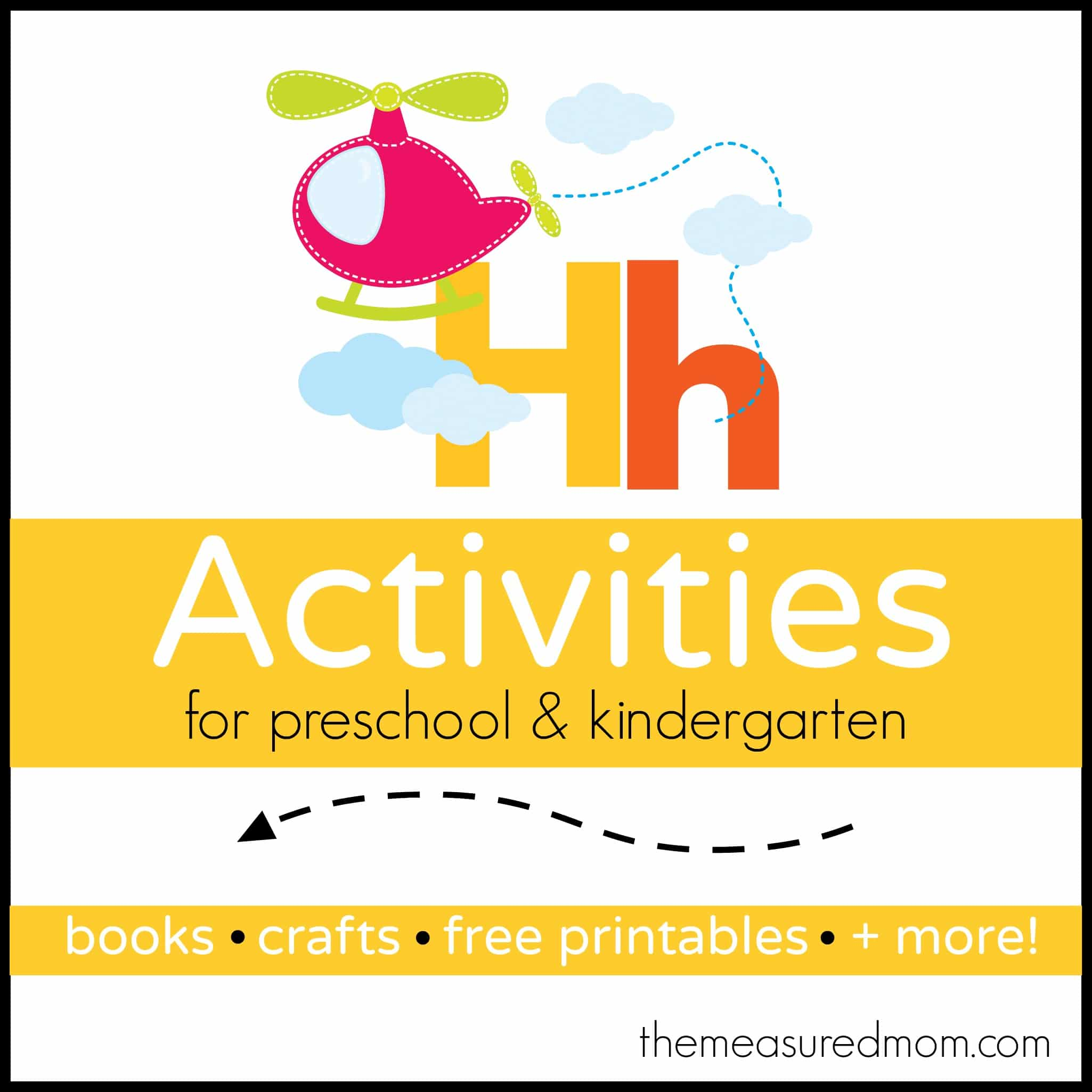 Letter H Activities