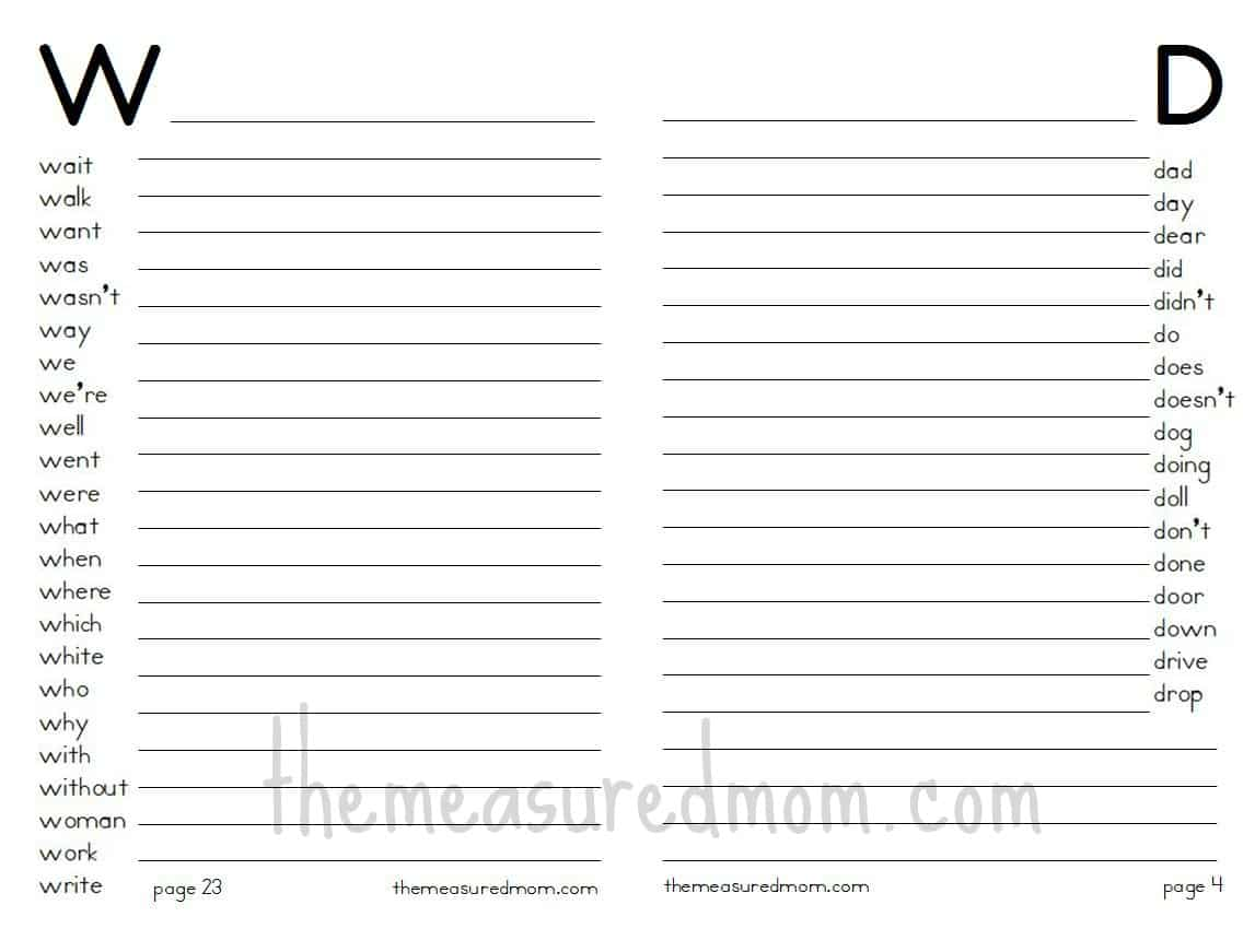New 452 First Grade Dictionary Worksheets