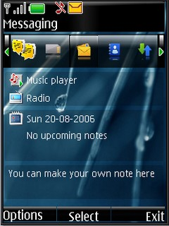 Vista dark s40v3 theme by shadow_20
