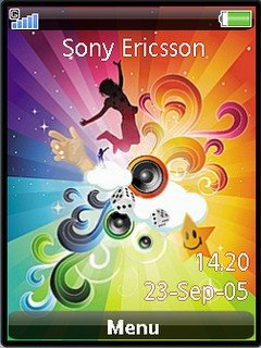 AbstractMusic  Sonyericsson theme