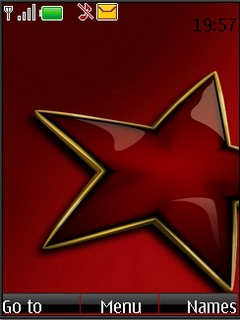 Red Star S40v3 theme by shadow_20