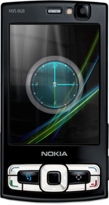Real Vista clock Flashlite screensaver by supertonic