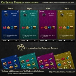 onseries themes by theshadow updated