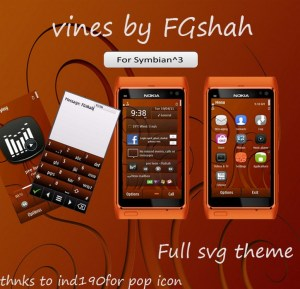 Free Symbianthemes vine by FGshah