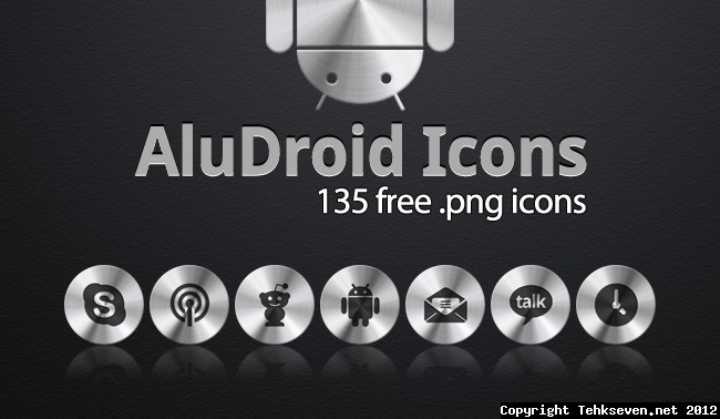 Aludroid android icons by Tehkseven
