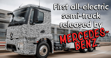 Mercedes Benz'sfirsteverelectricsemi truck
