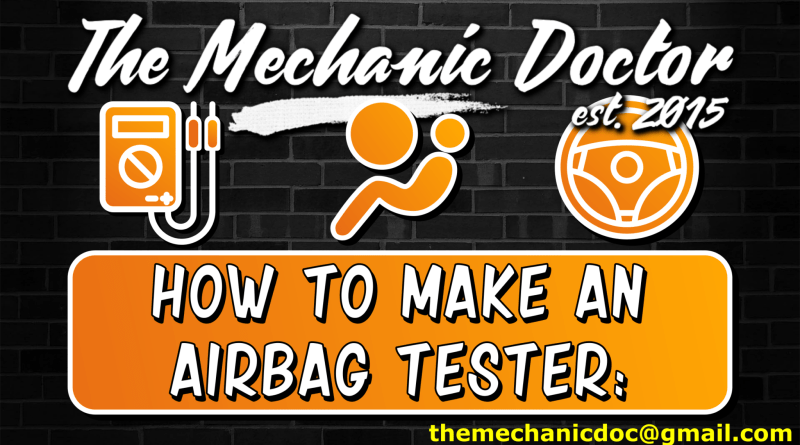 DIY Air bag tester: How to tutorial