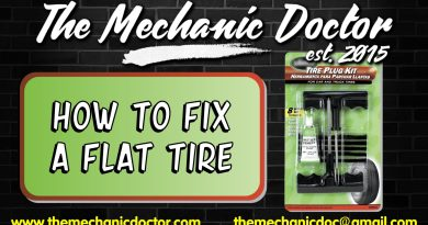 How to Fix a Flat Tire Using a Tire Repar Kit