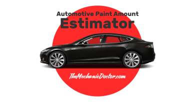 Automotive Paint Amount Estimator Title