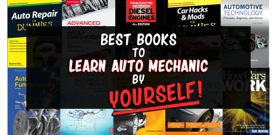 Best Auto Mechanic Books to Learn by Yourself