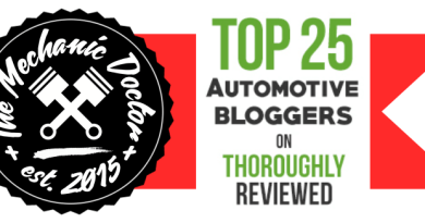 Top 25 Automotive Bloggers - The Mechanic Doctor