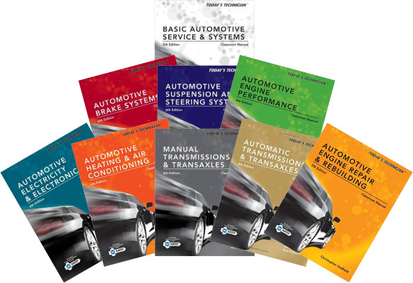 Today's Technician - Best Books for Auto Mechanics