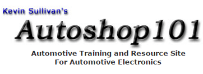 Autoshop101.com - Auto Mechanic Online Learning Resources