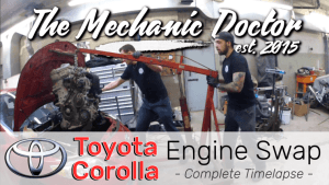 A Day in the Life of an Auto Mechanic | Toyota Corolla Engine Swap