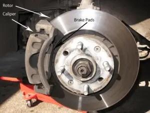 Disc brake component