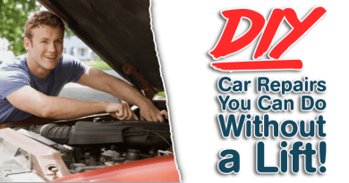 DIY Car Repairs You Can Do Without a Lift